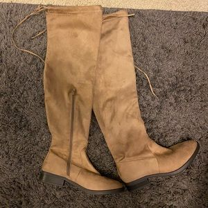 Charlotte Russe Over the Knee Tall Boots